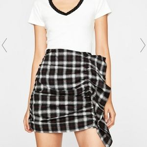 ♠️♣️♦️Plaid Ruffle Skirt♦️♣️♠️ by DollsKill